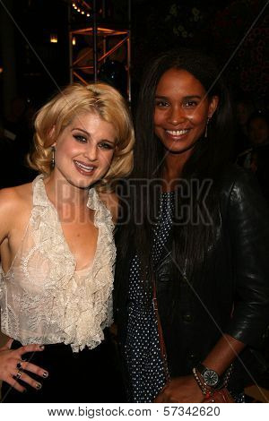 Kelly Osbourne and Joy Bryant  at Rodeo Drive Celebrates Fashion's Night Out, Beverly Hills, CA. 09-10-10