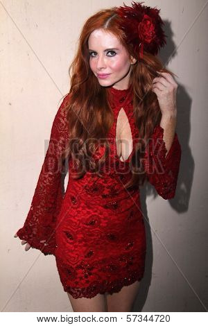 Phoebe Price preparing for the Leukemia & Lymphoma Society's 2012 Woman of the Year Award, Private Location, Los Angeles, CA 04-27-12