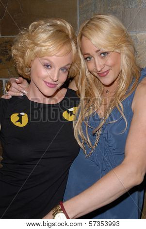 Dana Daurey and Jennifer Blanc-Biehn at Jennifer Blanc-Biehn's Birthday Party, Sardos, Burbank, CA. 04-23-10