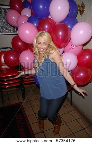 Jennifer Blanc-Biehn  at Jennifer Blanc-Biehn's Birthday Party, Sardos, Burbank, CA. 04-23-10
