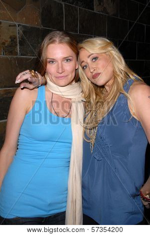 Kym Jackson and Jennifer Blanc-Biehn  at Jennifer Blanc-Biehn's Birthday Party, Sardos, Burbank, CA. 04-23-10