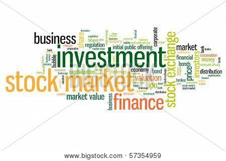 Stock Market Words