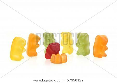 Gummy Bear story series: mobbing in working
