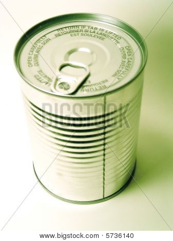 Tin Can of Food - No Label