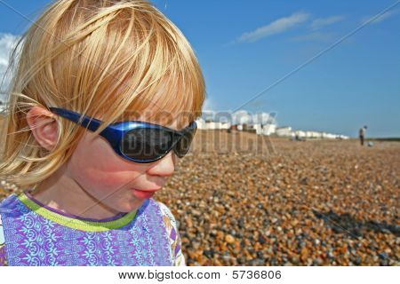 Child With Sunglasses