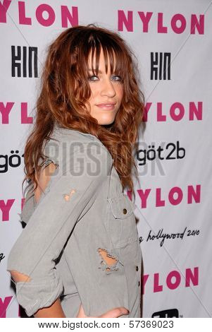 Brit Morgan at the NYLON Magazine's May Issue Young Hollywood Launch Party, Roosevelt Hotel, Hollywood, CA. 05-12-10