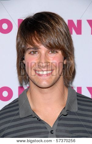 James Maslow at the NYLON Magazine's May Issue Young Hollywood Launch Party, Roosevelt Hotel, Hollywood, CA. 05-12-10