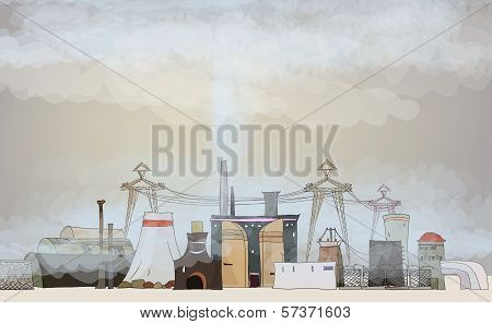 oil, gaz discovery ilustration