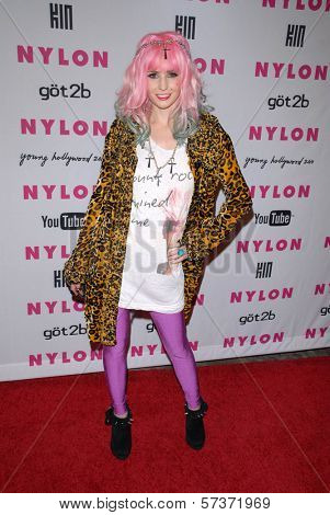 Audrey Kitching at the NYLON Magazine's May Issue Young Hollywood Launch Party, Roosevelt Hotel, Hollywood, CA. 05-12-10