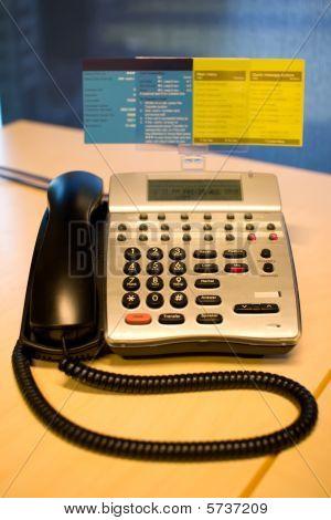 Telephone On An Office Desk