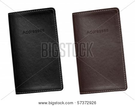Address Book Leather Bound