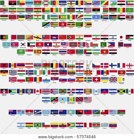 Flags of the world, part 1
