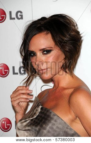 Victoria Beckham at the LG