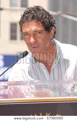 Antonio Banderas at the induction of Shrek into the Hollywood Walk of Fame, Hollywood, CA. 05-20-10