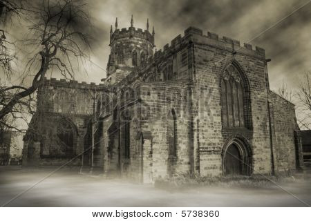 Church Spooky Mist