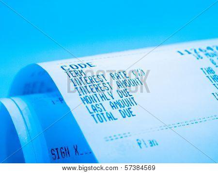 receipt pape