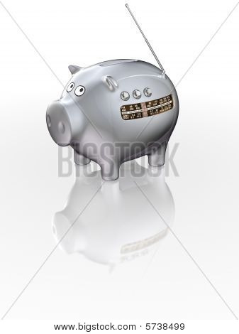 Radio Piggy Bank