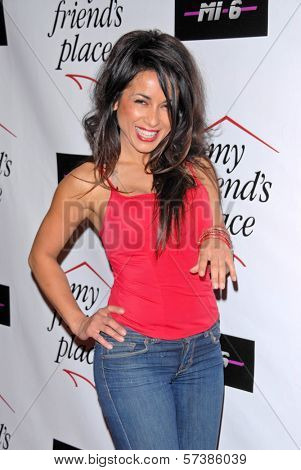Delilah Cotto at Kelly Osbourne Charity Clothing Drive for My Friend's Place, MI6, West Hollywood, CA. 05-26-10
