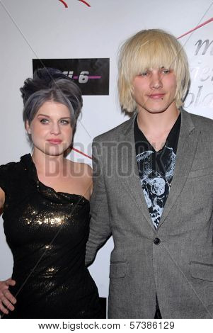 Kelly Osbourne and Luke Worrall at Kelly Osbourne Charity Clothing Drive for My Friend's Place, MI6, West Hollywood, CA. 05-26-10