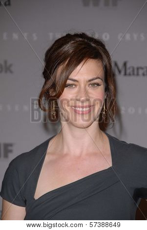 Maggie Siff at the 2010 Crystal + Lucy Awards: A New Era, Century Plaza, Century City, CA. 06-01-10