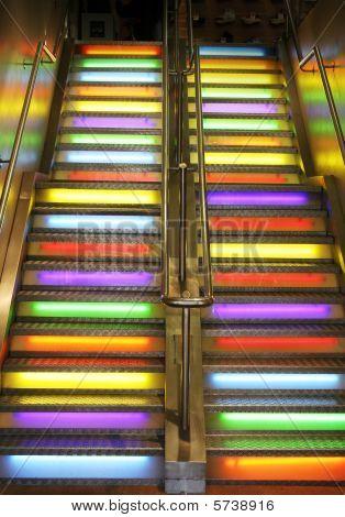Stairs Neon Light