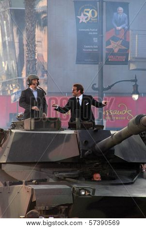 Sharlto Copley and Bradley Cooper at