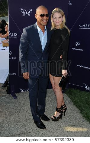 Amaury Nolasco and Jennifer Morrison  at the 9th Annual Chrysalis Butterfly Ball, Private Location, Beverly Hills, CA. 06-05-10