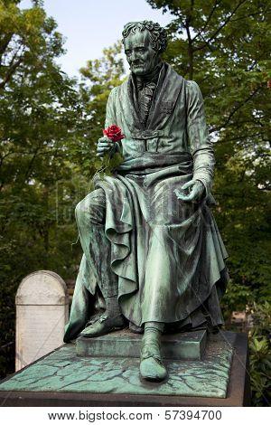 Vivant Denon, monument in the cemetery Pere Lachaise, Paris