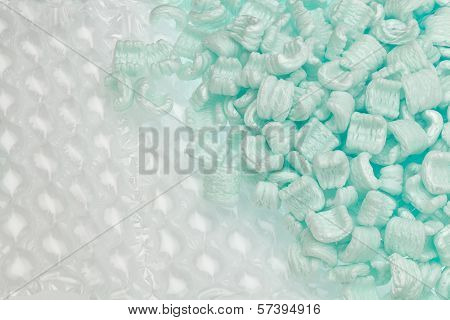 Polystyrene And Bubble Wrap