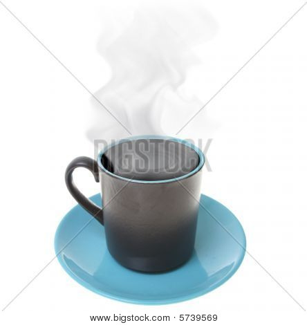 Coffee Cup Steam Hot