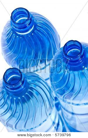 Blue Water Bottles