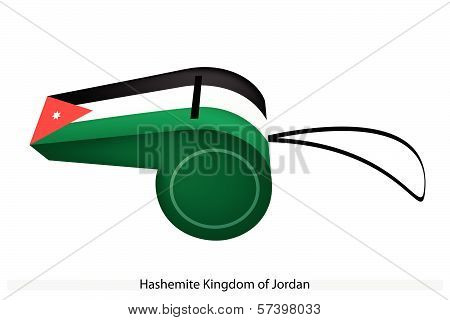 A Whistle Of Hashemite Kingdom Of Jordan