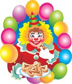 picture of purim  - On a holiday of Purim all have fun and eat sweets - JPG