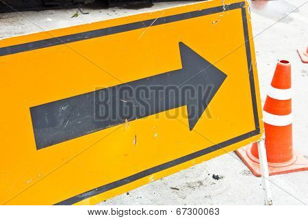 Sign Arrow