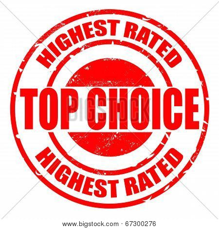 Top Choice Highest Rated Stamp