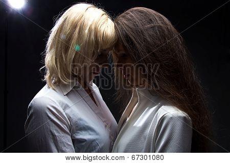 Two sensual girls