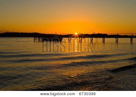 Dorset Sunset - Poole Harbour