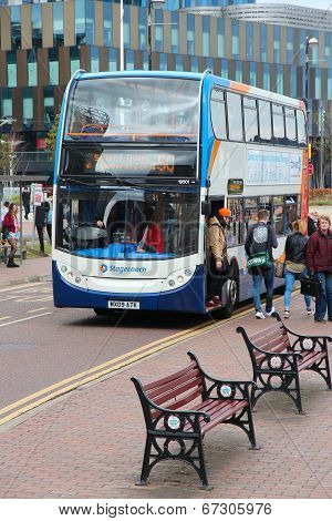 Manchester Stagecoach Bus