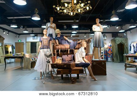 SHENZHEN, CHINA-APRIL 13: shopping store in ShenZhen on April 13, 2014 in Shenzhen, China. ShenZhen is regarded as one of the most successful Special Economic Zones.