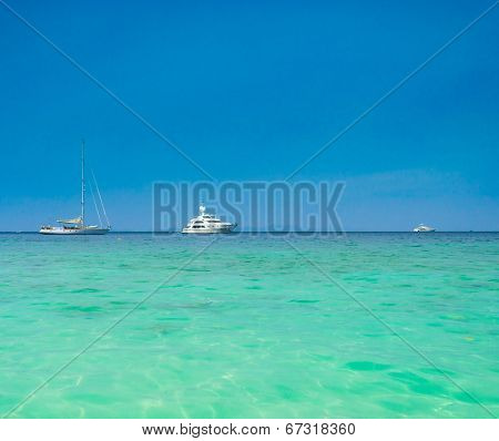 Sea Scene Yacht Vacation