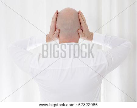 Back Of A Bald Head