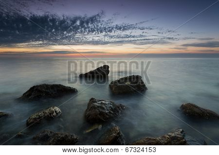 Twilight On The Cossack Bay
