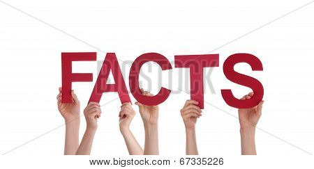 People Holding Facts