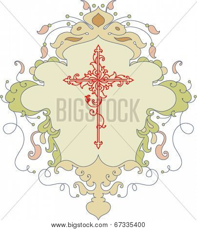 Christian Cross Flourishes
