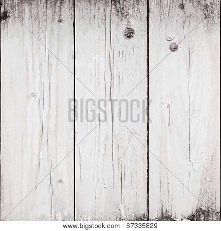 Bleached Planks Background