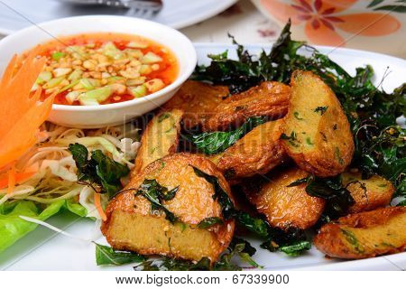 Fried Fish Cake (tod Mun Pla)