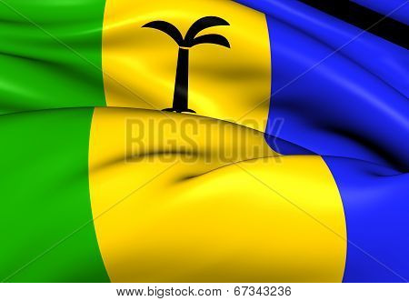 Saint Christopher-nevis-anguilla Flag
