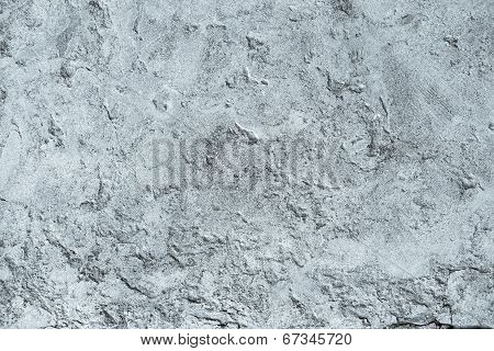 Texture Of Old Plaster For Silvery Backgrounds