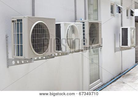 Air Conditioner At Wall