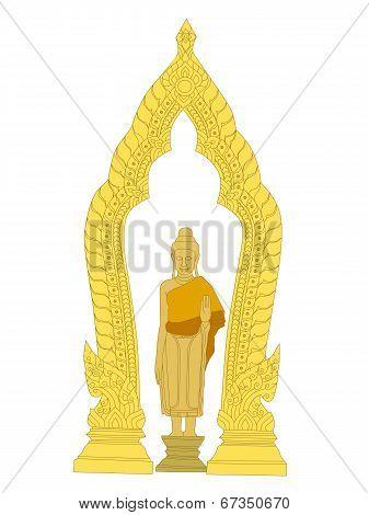 Image Of Buddha Thai Art